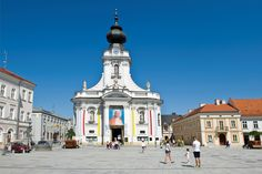 Cathedral in Wadowice