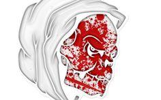 skull wallpaper desktop background imagem caveira17