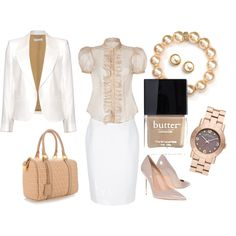 """Blazer and pencil skirt contest"" by wen-dyy on Polyvore"