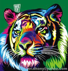 Las coloridas ilustraciones vectoriales del artista Wahyu Romdhoni que a su corta edad se destaca por su talento.