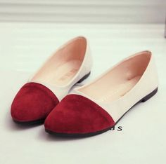 New-Women-039-s-Fashion-Ballet-Slip-On-Flats-Loafers-Single-Shoes-Casual-Flat-Shoes