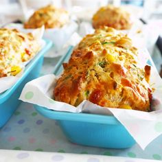 mini vegetable loaves - my lovely little lunch box Loaf Recipes, Carrot Recipes, Lunch Box Recipes, Milk Recipes, Baby Food Recipes, Cooking Recipes, Lunchbox Ideas, Vegetarian Recipes, Savoury Recipes