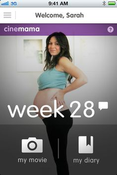 cinemama - create a timelapse of your belly's growth over your pregnancy   this is so cool... I wish I could have done this! :)