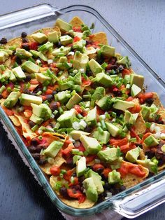 Healthy Loaded Black Bean Nachos...  giving this dairy free nacho cheese sauce a try.  We'll see if this goes to my board, I Did It And It's a Good One!