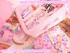 Kawaii socks or tights box