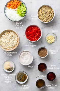 Lentil Recipes, Raw Vegan Recipes, Vegetarian Recipes Dinner, Vegan Foods, Vegan Dishes, Veggie Recipes, Cooking Recipes, Gf Recipes, Brunch Recipes