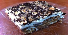 Greek Sweets, Greek Desserts, Party Desserts, No Bake Desserts, Greek Recipes, Healthy Desserts, Sweets Recipes, Candy Recipes, Baking Recipes
