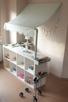 Unordnung im kinderzimmer praktische und kreative ideen for Ikea kinderspiel
