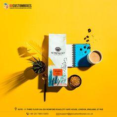 Coffee Box, Gate House, Coffee Packaging, Custom Boxes, Cool Designs, Branding, London, Marketing, Prints