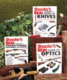 Keep information about selecting and caring for most weapons and accessories right at your fingertips with the Shooter's Bible Guide Books.