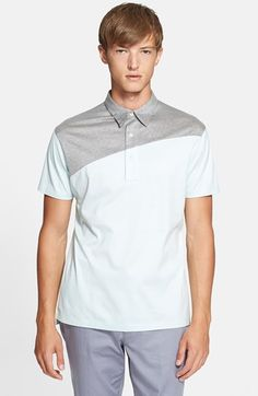 PS+Paul+Smith+Colorblock+Polo+available+at+#Nordstrom