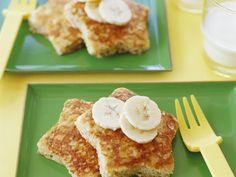 Für dieses Frühstück hüpfen wir doch gerne aus dem Bett! French Toast mit Bananen - smarter - Zeit: 20 Min. | eatsmarter.de