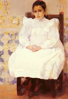 Maria, 1900, Private Collection Joaquin Sorolla y Bastida See archive for more Joaquin Sorolla y Bastida