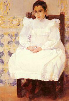 Maria, 1900, Private Collection Joaquin Sorolla y Bastida See archive for more Joaquin Sorolla y Bastida