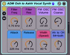Afro DJ Mac has released Ohh to Ahh Vocal Synth, a new free for download sample pack for Ableton Live 9 featuring 'aahh' vocal synth sample. http://www.producerspot.com/download-ohh-to-ahh-vocal-synth-free-ableton-pack-by-afro-dj-mac