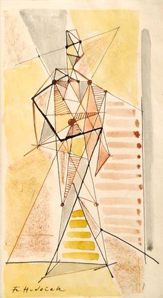 František Hudeček Table Lamp, Abstract, Paper, Artwork, Home Decor, Summary, Table Lamps, Work Of Art, Decoration Home