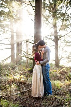 Oregon Coast Engagement - Nikita Lee Photography