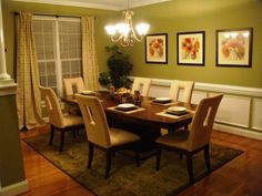 Sage Green Walls Living Room And Dining Room Pinterest
