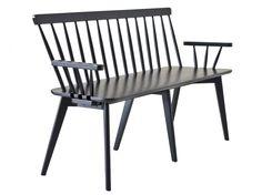 LINKÖPING Pinnsoffa Svart i gruppen Inomhus / Soffor / 2-4-sits soffor hos Furniturebox (100-13-14972)
