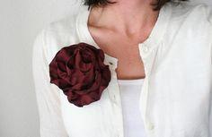 Polyester flower