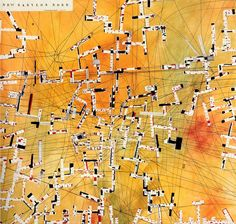 Constant Nieuwenhuys - New Babylon Nord 1971 (detail) Guy Debord, Art Carte, Architecture Drawings, Conceptual Architecture, City Maps, Land Art, Photo Art, Contemporary Art, Abstract Art