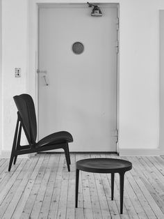 Elephant Chair, Black / Wool - NORR11