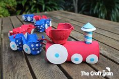 tren animado caja de huevos - Buscar con Google