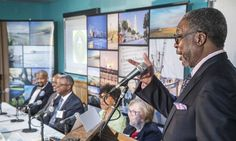 Dr. David E. Rivers of the Medical University of South Carolina opens the…