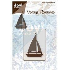 Loď - vyřezávací kovová šablona s pěnou Joy Crafts (1ks)