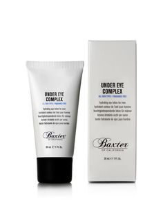 Created specifically to address men's eye-related concerns, the new Under Eye Complex immediately minimizes puffiness and dark circles. Over time, the product helps to smooth and tone the delicate ski