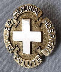 Miller Memorial Hospital School of Nursing Graduation Pin - Minnesota, Minnesota