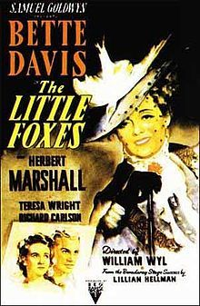 Little Foxes - 1941 - One of her best roles. The scene where she lets Herbert Marshall's character die is a classic.