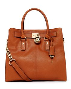 The newest addition to my collection...Michael Kors  Hamilton Large Tote.