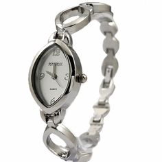 FW762A NATURAL PNP Shiny Silver Watchcase Matt Silver Dial Ladies Bracelet Watch
