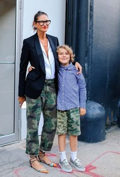 Phil Oh's Best Street Style Pics From the Spring 2017 New York Men's Shows Jenna Lyons and more of the best street style from the Spring 2017 New York men's shows. Cool Street Fashion, Look Fashion, Fashion Spring, Trendy Fashion, Fashion Ideas, Fashion Trends, Looks Style, Style Me, Camouflage