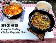 Pioneering Today-Dutch Oven Chicken Vegetable Bake Recipe « Melissa K. Norris