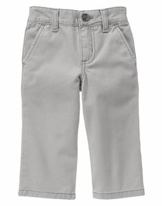 Gymboree Boys Khaki Pants Roll Up Lightweight Size NEW 4 4T