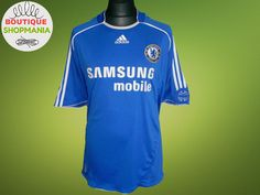 CHELSEA HOME 2006-2008 (XL) Adidas Football Shirt Jersey Maglia Camisa  Mailot #