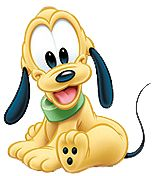 Baby Pluto Smiling