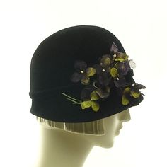Felt Cloche Hat for Women  1920s Inspired par TheMillineryShop, $245,00