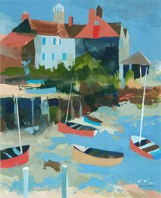 Burnham Overy Staithe by Richard Tuff