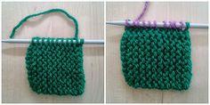 Apuros de una tejedora compulsiva: Tutorial: Hacer un Log Cabin de punto Knitting Stitches, Diy And Crafts, Crochet Necklace, Blanket, Crochet Bebe, Fashion Design, Exercise, Baby, Ideas