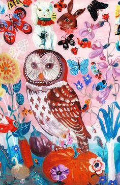 owl by Nathalie Lete