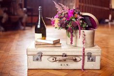Vintage Props Photo by Kristen Booth via One Fab Day