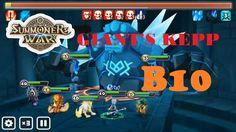 Summoners' War : Sky Arena - Giant B10 team (auto run)