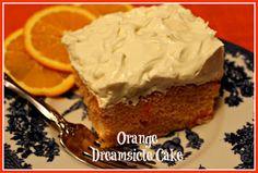 Sweet Tea and Cornbread: Orange Dreamsicle Cake!
