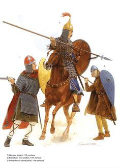 German Medieval Armies 1000–1300 - 11th century. Osprey Publishing