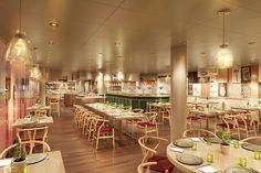 Das Culinary Arts Center auf der Koningsdam ist tagsüber Show-Küche und abends…