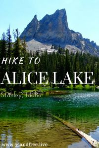 Hiking in Idaho. A beautiful lake hike in Stanley, Idaho. Read about this amazing hike.