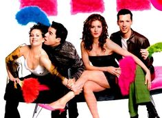 Eric McCormack, Debra Messing, Sean Hayes, Megan Mullally ~ Will & Grace ~ Publicity Photos